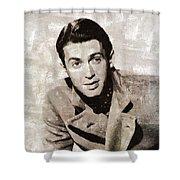 James Stewart Hollywood Actor Shower Curtain