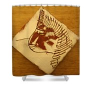 Jane - Tile Shower Curtain