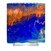 January Canyon Shower Curtain