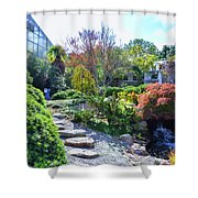 Japanese Garden 3 Shower Curtain