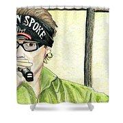 Jay Allen At The Broken Spoke Saloon Shower Curtain