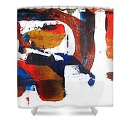 Jazz Rodeo Shower Curtain by Steve Kleier