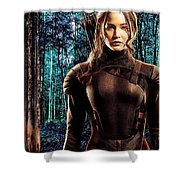 Jennifer Lawrence Collection Shower Curtain