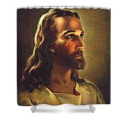 Jesus 2 Shower Curtain
