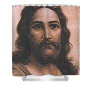 Jesus 3 Shower Curtain