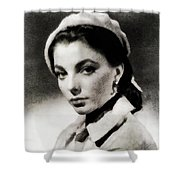 Joan Collins, Actress Shower Curtain