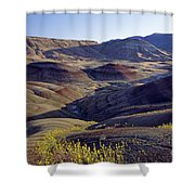 John Day Fossil Beds  Shower Curtain