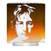 John Lennon The Legend Shower Curtain