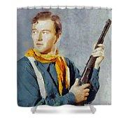 John Wayne, Vintage Hollywood Legend Shower Curtain