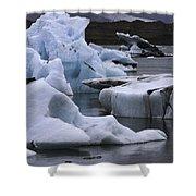 Jokulsarlon Glacier Lagoon Iceland 2431 Shower Curtain