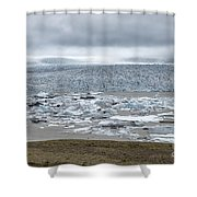 Jokulsarlon, Iceland Shower Curtain