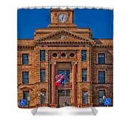 Jones County Courthouse Shower Curtain