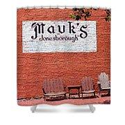 Jonesborough Tennessee Mauk's Store Shower Curtain