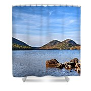 Jordan Pond No. 2 - Acadia - Maine Shower Curtain