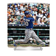 Josh Donaldson Shower Curtain