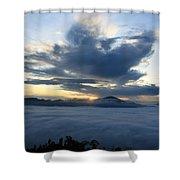 Jungle Sunrise Shower Curtain