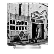 Junk Company Shower Curtain