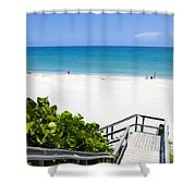 Juno Beach Florida Shower Curtain
