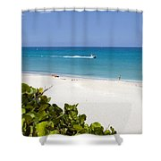 Juno Florida Shower Curtain