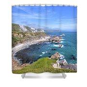 Jurassic Coast - England Shower Curtain