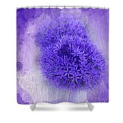 Just A Lilac Dream -4- Shower Curtain by Issabild -