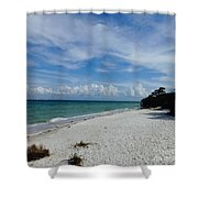 Just Another Day In Paradise  Shower Curtain