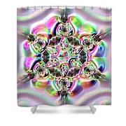Jyoti Ahau 217 Shower Curtain