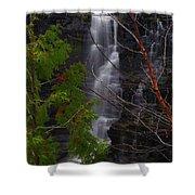 Kakabeka Falls, Low Water Shower Curtain