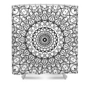Kaleidoscope 706 Shower Curtain