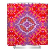 Kaleidoscope 9 Shower Curtain