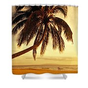Kamaole Beach Shower Curtain