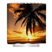 Kamaole One Shower Curtain