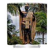 Kamehameha The Great Shower Curtain