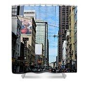 Karney Street San Francisco  Shower Curtain
