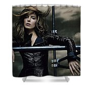 Kate Beckinsale Shower Curtain