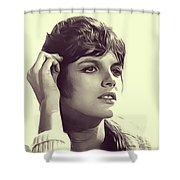 Katharine Ross, Vintage Actress Shower Curtain