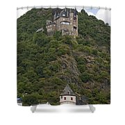 Katz Castle, Loreleystadt Shower Curtain
