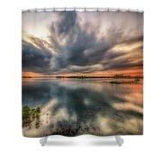 Kayaker's Dream Shower Curtain