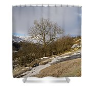 Keld To Muker Shower Curtain