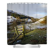 Keld Views Shower Curtain