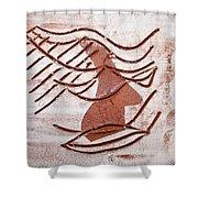 Keli - Tile Shower Curtain