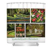 Keukenhof Collage Shower Curtain