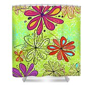 Key Lime Delight Shower Curtain