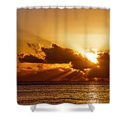 Key West Sunrise 21 Shower Curtain
