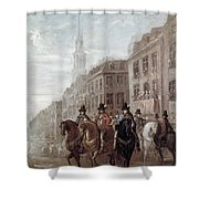 King Charles II Of England Shower Curtain