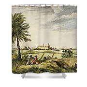 Kings College, New York Shower Curtain