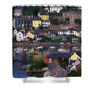 Kinsale, Co Cork, Ireland Boats And Shower Curtain