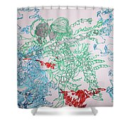 Kintu And Nambi Loves Puzzle Shower Curtain