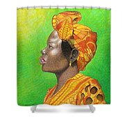Kissed By The Sun Shower Curtain