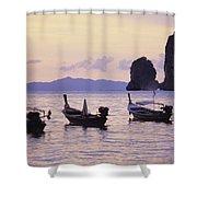Koh Phi Phi Shower Curtain